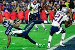 Malcolm Butler Patriots v Seahawks Glendale 2015 Wall Sticker