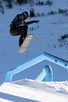 Shaun White USA Snowboarding Grand Prix Mammoth 2014