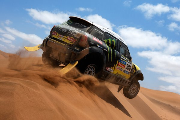 Nani Roma of Spain and Michel Perin of France 2014 Dakar Rally