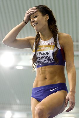 Katarina Johnson-Thompson British Athletics Indoor Championships