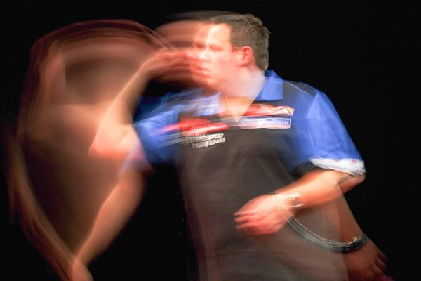 Adrian Lewis World Darts Championship 2011