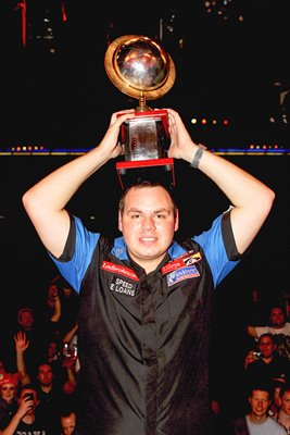 Adrian Lewis World Darts Champion 2011