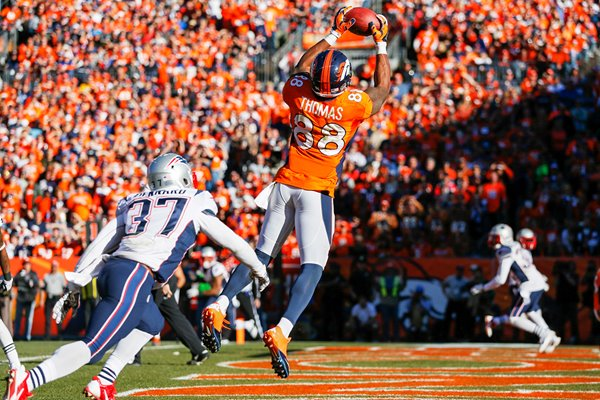 Demaryius Thomas Denver Broncos Touchdown Catch 2014
