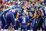 Russell Wilson Seattle Seahawks Championship Game 2014 Prints