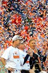 Peyton Manning & John Elway Denver Broncos Legends 2014 Prints