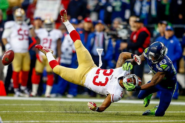 LaMichael James 49ers & Ricardo Lockette Seahawks 2014