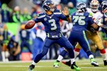 Russell Wilson Seattle Seahawks Quarterback NFC Championship 2014 Prints