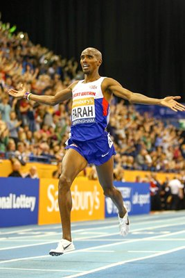 Mo Farah Indoor Grand Prix 2015