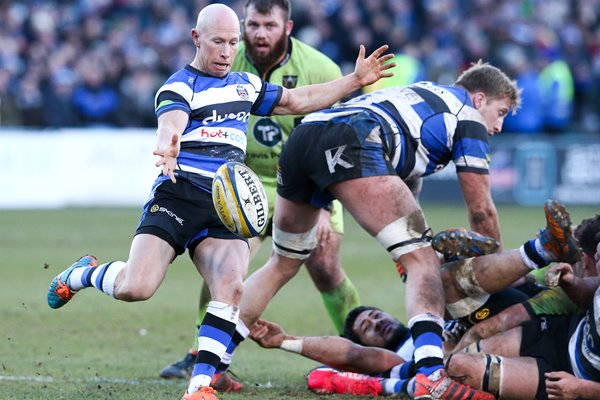 Peter Stringer Bath v Northampton 2015