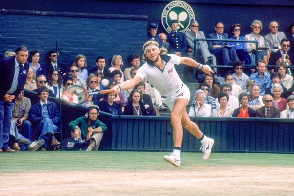 Bjorn Borg wins his 5th Consecutive Wimbledon, 1980