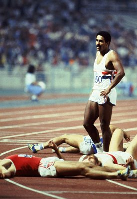Daley Thompson in Athens 1982
