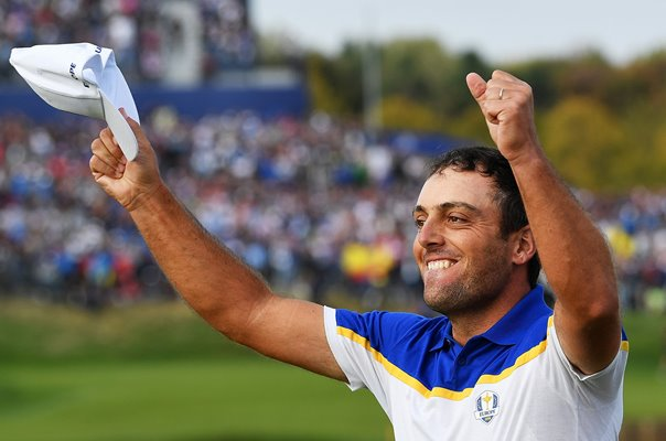 Molinari celebrates Europe Ryder Cup victory 2018