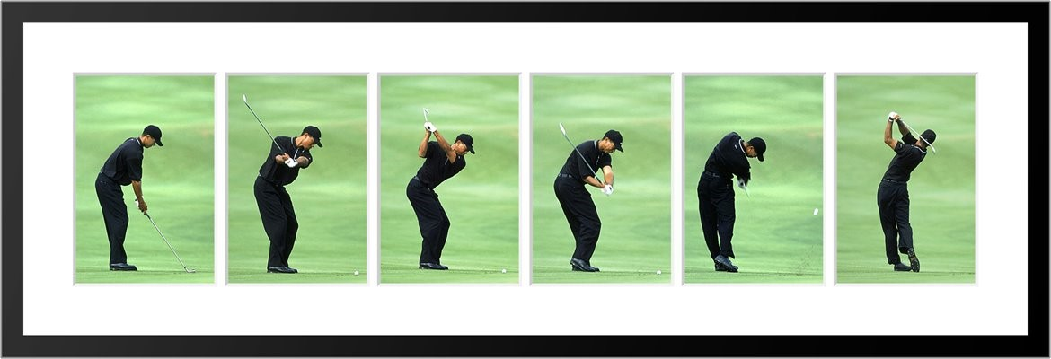 Golfing Sequence Photoes