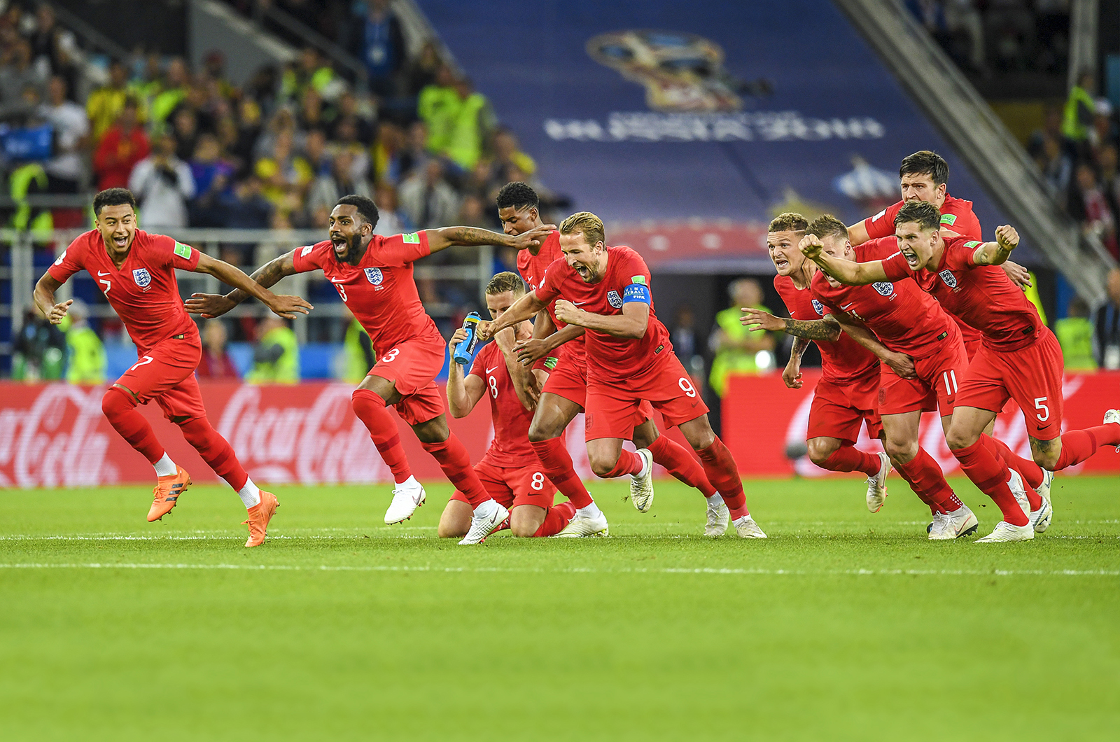 England Win on Penalties in Russia 2018