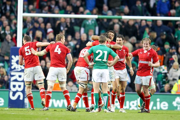 Wales win Grand Slam at 6 Nations 2012