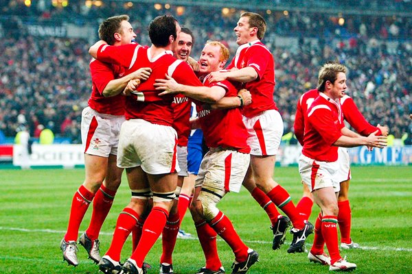 Wales win 6 Nations Grand Slam 2005