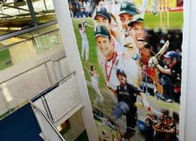 Corporate Spaces Interior Design: National Cricket Centre - 5x3 Metre Vinyl Banner