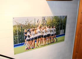 Schools Interior Design: Benenden School Sports Centre - Dibond