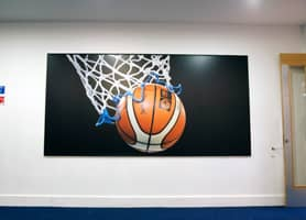 Schools Interior Design: ACS Cobham School - Flexface Vinyl Canvas