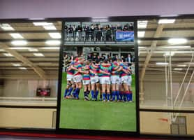 Schools Interior Design: Millfield Gym - Vinyl Window Graphics