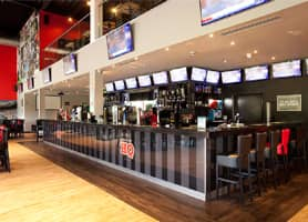 HQ Sports Bar, Dunstable - Branded Polycarbonate Bar Front
